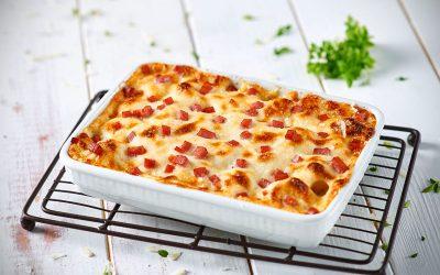 Gnocchi Bake with Posciutto