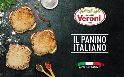 Veroni Italian panini PR