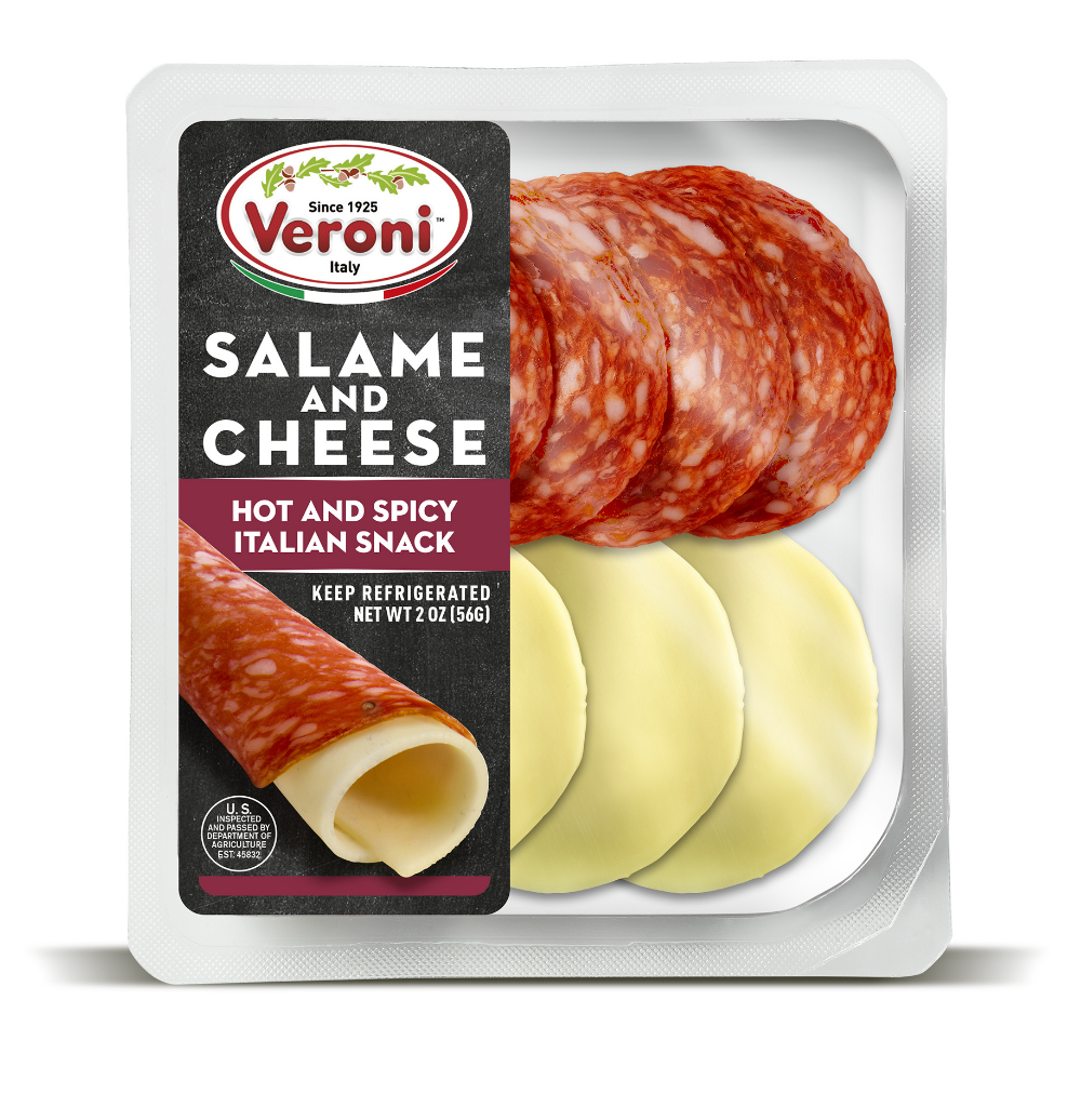 Spicy Salami and Cheese