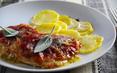 Saltimbocca with Potatoes