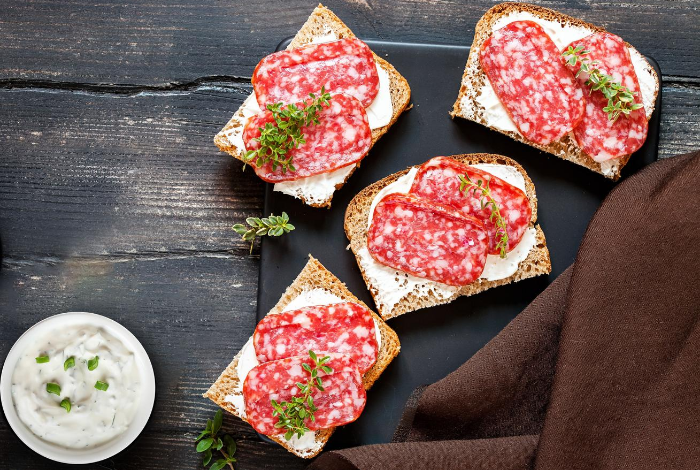 Dips and spreads to enhance charcuterie